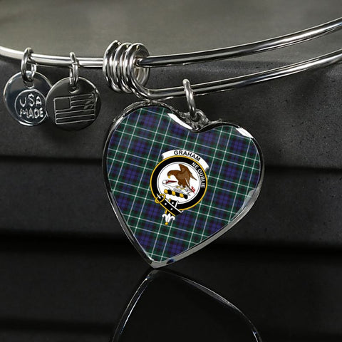 Graham Of Montrose Modern Tartan Silver Bangle - Sd1 Luxury Bangle (Silver) Jewelries