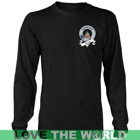 Image of Grant In Me T-Shirt S12 District Long Sleeve Shirt / Navy S T-Shirts