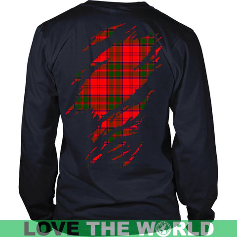 Image of Grant Tartan Shirt And Tartan Hoodie In Me