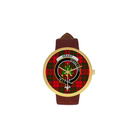Grant Modern Clan Badge Tartan Watch
