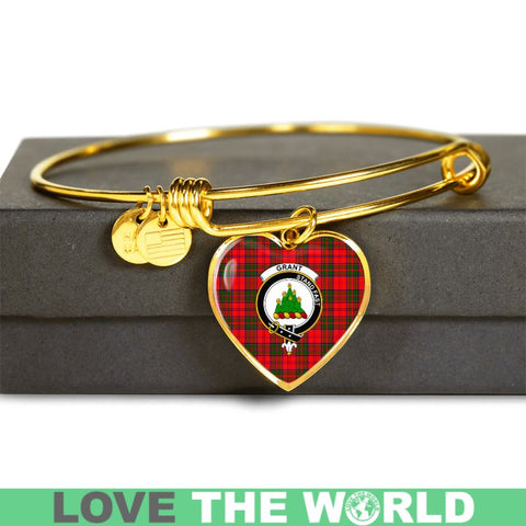 Grant Modern Tartan Golden Bangle - Tm Adjustable Bangle Jewelries