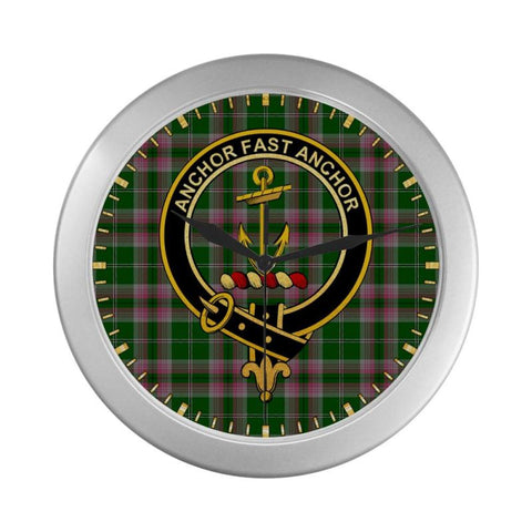 Image of Gray Clan Tartan Wall Clock A9 Clocks