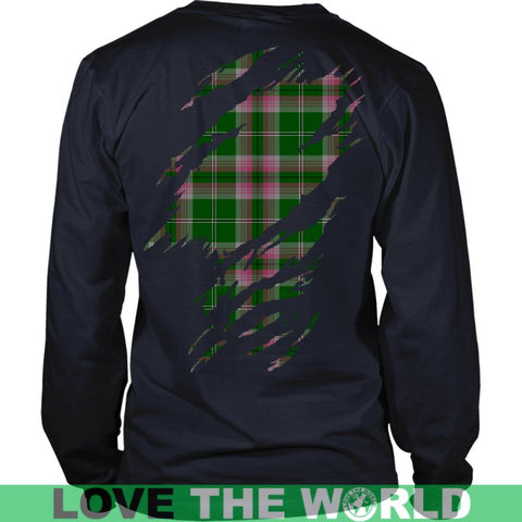Image of Gray Tartan Shirt And Tartan Hoodie In Me