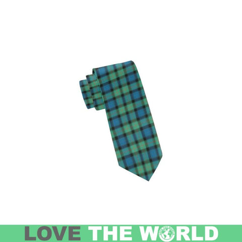 Gunn Ancient Tartan Classic Necktie Ha8 Neckties