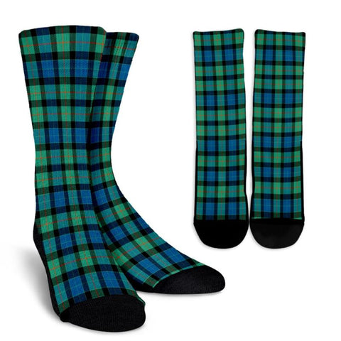 Gunn Ancient Tartan Socks, scotland socks, scottish socks, Xmas, Christmas, Gift Christmas, noel, christmas gift, tartan socks, clan socks, crew socks, warm socks