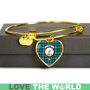 Gunn Ancient Tartan Golden Bangle - BN