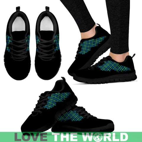 Tartan Sneaker - Flying Gunn Ancient | Scotland Sneaker | Over 500 Wings of Tartans