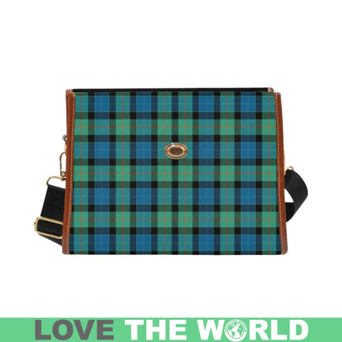 Gunn Ancient Tartan Canvas Bag | Waterproof Bag | Scottish Bag