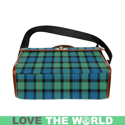 Gunn Ancient Tartan Plaid Canvas Bag | Online Shopping Scottish Tartans Plaid Handbags