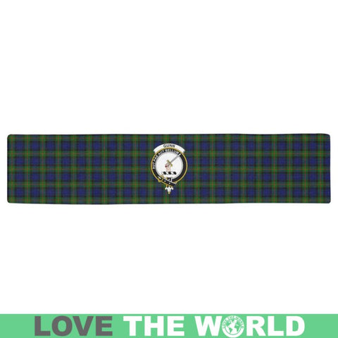 Image of Gunn Modern Tartan Table Runner - Tm Runners