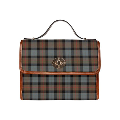 Gunn Weathered Tartan Canvas Bag | Waterproof Bag | Scottish Bag