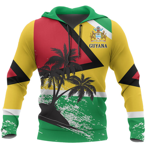 Guyana Special Pullover Hoodie | Women & Men | Pullover | All Over Print