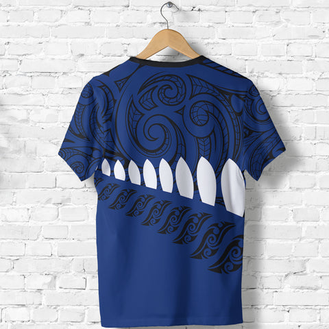 New Zealand - Aotearoa T-shirt (Blue) A6