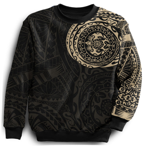 Polynesian Tattoo Style All Over Sweatshirt A7 |Men and Women| Love The World