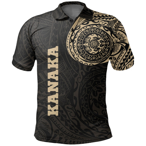 Image of Kanana Polo Shirt Tattoo Style Version 2.0 A7