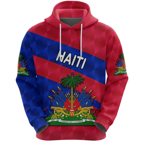 1st The World Haiti Hoodie Sporty Style| Clothing | Love Haiti