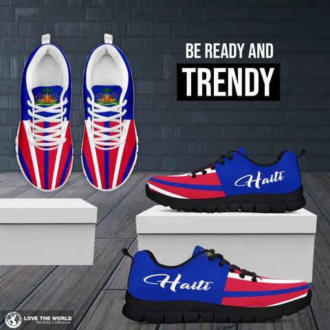Haiti sneakers - coat of arms of haitian shoes - haiti sneakers, haitian shoes, haitian pride, haiti island, shoes, online shopping