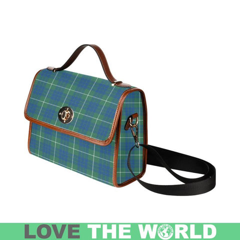 Hamilton Hunting Ancient  Tartan Plaid Canvas Bag | Online Shopping Scottish Tartans Plaid Handbags