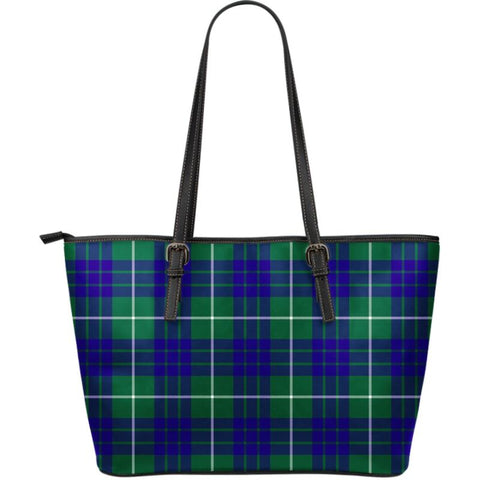 Hamilton Hunting Modern Tartan Handbag - Large Leather Tartan Bag Th8 |Bags| Love The World