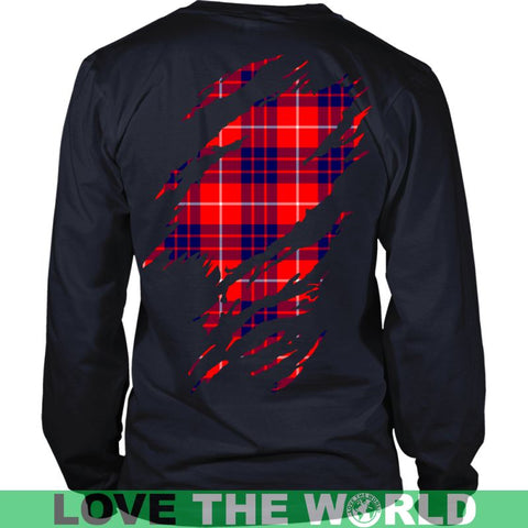 Image of Hamilton Tartan Shirt And Tartan Hoodie In Me