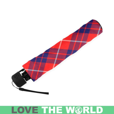 Hamilton Modern Tartan Foldable Umbrella Th8 |Accessories| 1sttheworld