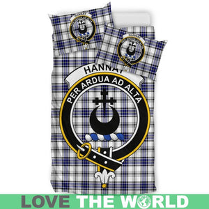 Hannay Clan Badge Tartan Bedding Set K7