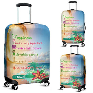 Hawaii Best Things Luggage Cover Th7 Covers