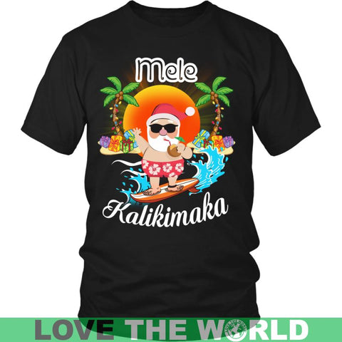 Image of Hawaii - Mele Kalikimaka T-Shirt J1 Guys Tee / Royal Blue S T-Shirts