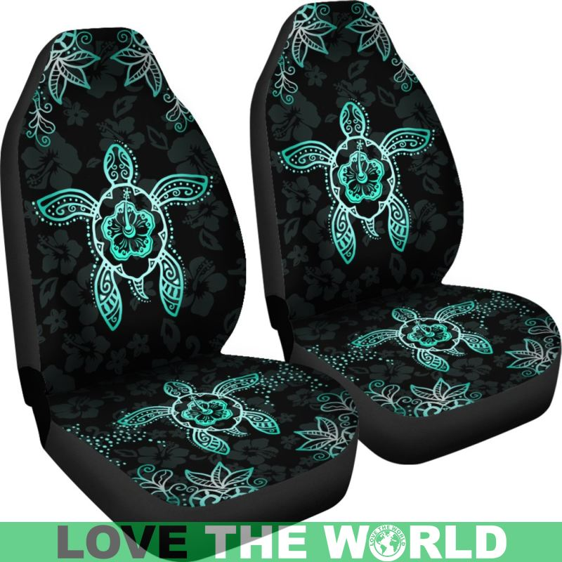 Turtle Hawaiian Car Seat Covers