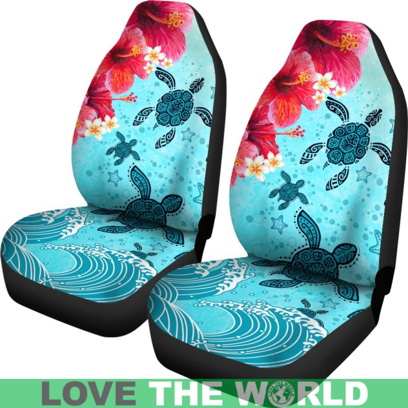 Hawaiian Car Seat Covers >> Hawaii Turtle Hibiscus Car Seat Covers Nn8