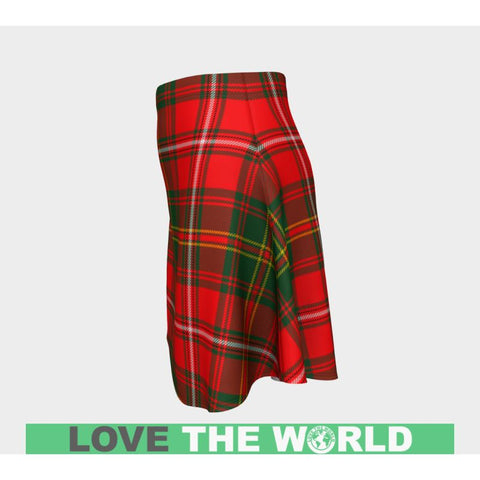 Image of Tartan Skirt - Hay Modern Women Flared Skirt A9 |Clothing| 1sttheworld