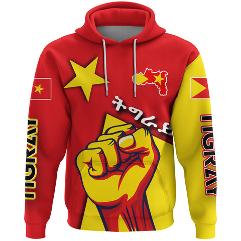 Image of Tigray Hoodie - Tigray Revolt A21