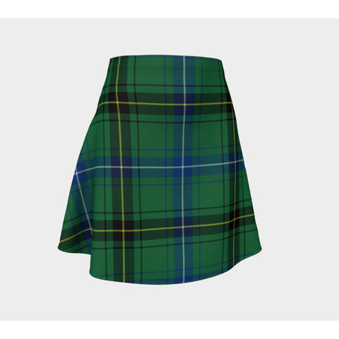 Tartan Skirt - Henderson Ancient Women Flared Skirt A9 |Clothing| 1sttheworld