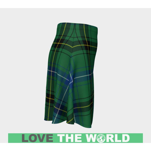 Image of Tartan Skirt - Henderson Ancient Women Flared Skirt A9 |Clothing| 1sttheworld