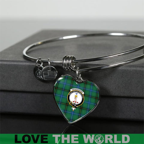 Henderson Ancient Tartan Silver Bangle - Sd1 Luxury Bangle (Silver) Jewelries
