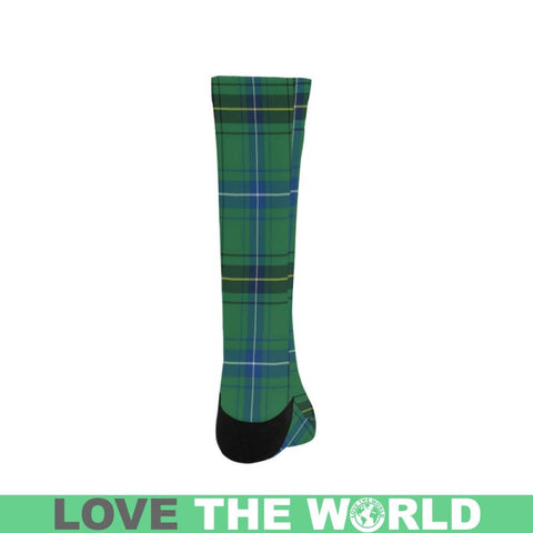 Henderson Ancient Tartan Trouser Socks Hj4