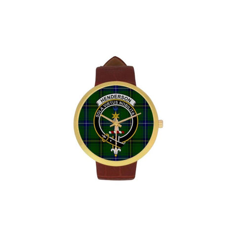 Henderson Modern Clan Badge Tartan Watch