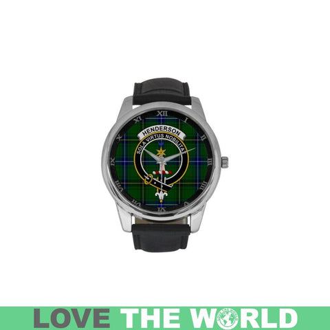 Henderson Modern Clan Badge Tartan Watch Nn5 |Accessories| Love The World