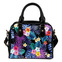 Hibiscus Shoulder Handbag 11 Handbags