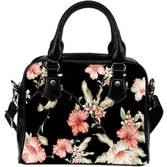 Hibiscus Shoulder Handbags 001