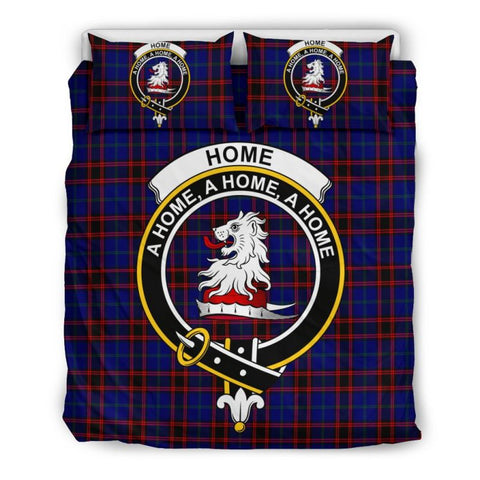 Home Modern Clan Badge Tartan Bedding Set Th1 Bedding Set - Black Black / Queen/full Sets