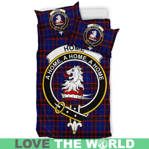 Image of Home Modern Tartan Clan Badge Bedding Set Th1 Bedding Set - Black Black / Queen/full Sets
