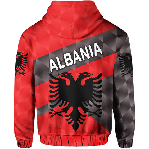 Image of Albania Hoodie Sporty Style K8