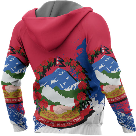 Nepal Special Pullover Hoodie A8