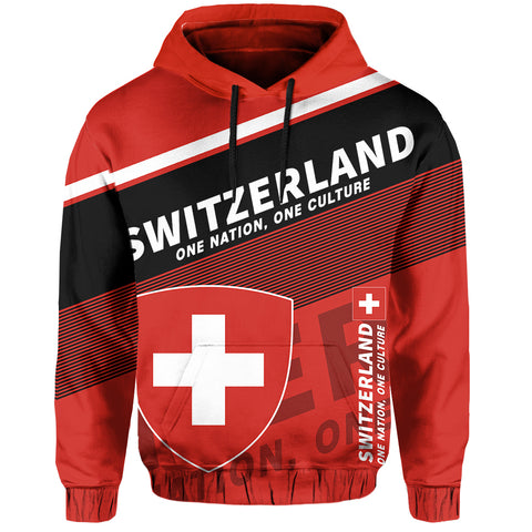 Switzerland Hoodie Flag Motto - Limited Style
