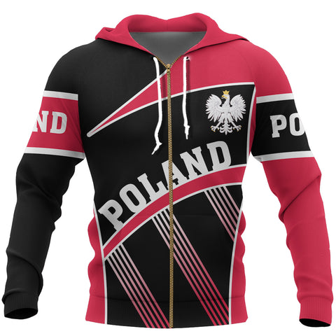 Image of Poland Sport Line Zip-Up Hoodie