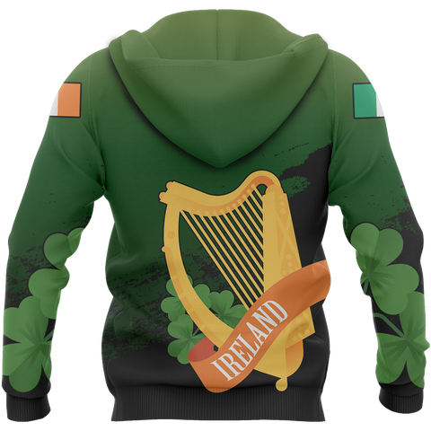 The Irish Harp Hoodie | Special Custom Design | Hot Sale