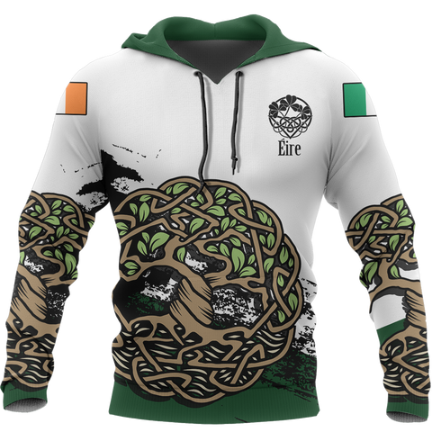 Celtic Tree of Life Hoodie White Version | Special Custom Design | Hot Sale