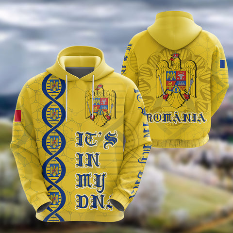 Image of Romania DNA Hoodie K5
