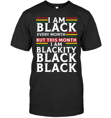 Africa T-shirt - I Am Black
